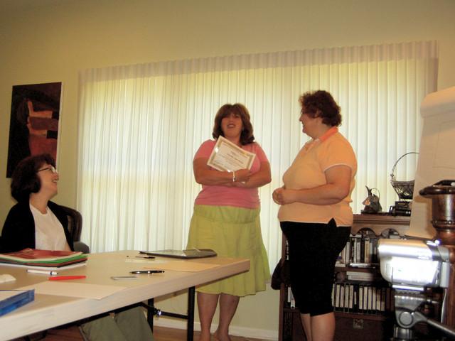 Tatyana L. received Diploma #1