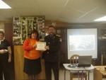 Diploma to Tatiana